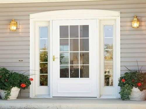 Marvelous Wood Storm Doors With Glass Panels