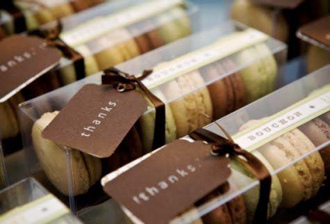 Macaron packaging <3