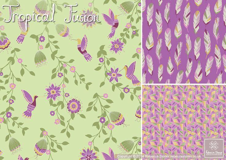 Tropical Fusion Collection © Rebecca Stoner www.rebeccastoner.co.uk
