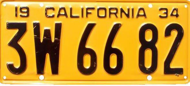The Colorful History of California License Plates - Los Angeles Magazine