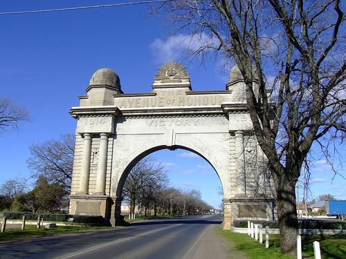 The Avenue of Honour, Ballarat, Victoria