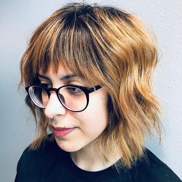 45 beste frisuren mittellang stufig fransig | 2020 hair