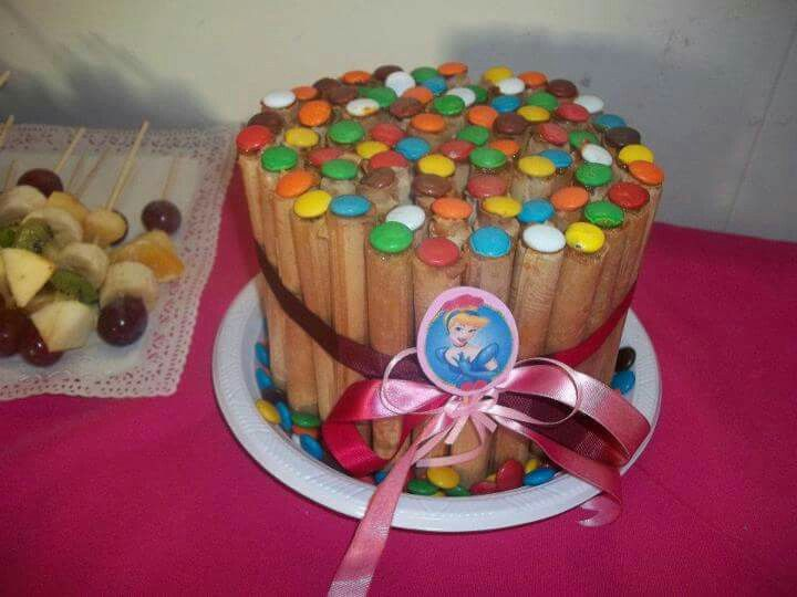 Torta cuchufli princesas