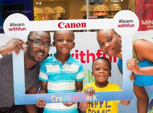 A fun day awaits you with our #LearnWithFun Selfie Frame! Try it and other activities today at Ikeja City Mall in Lagos Nigeria. #CanonCNA via Canon on Instagram - #photographer #photography #photo #instapic #instagram #photofreak #photolover #nikon #canon #leica #hasselblad #polaroid #shutterbug #camera #dslr #visualarts #inspiration #artistic #creative #creativity