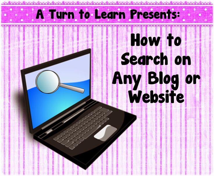 A Turn to Learn: How to Search on Any Blog or Website