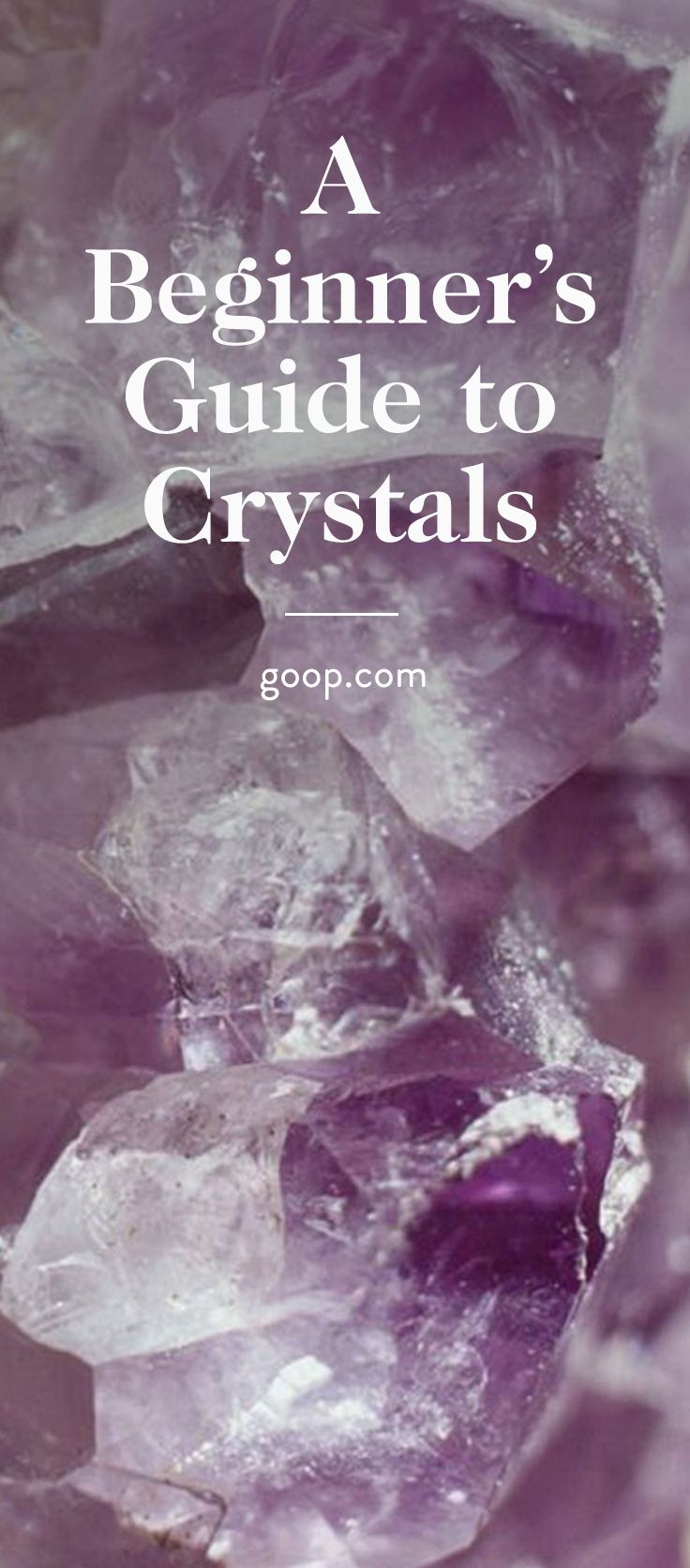 Our guide to the meaning of crystals and how to use them for healing purposes.