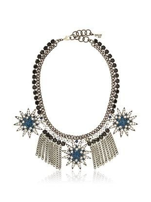 70% OFF Yochi Fringe Montana Star Statement Necklace
