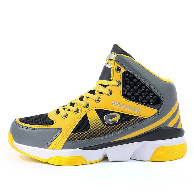 Basketball Shoes For Men Yellow/Red Shoes Sport Mens Shockproof Man Athletic Sneakers New Arrival Men Basketball Shoe #Affiliate
