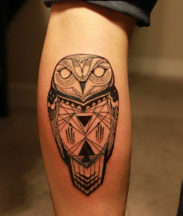 waden tattoo owl