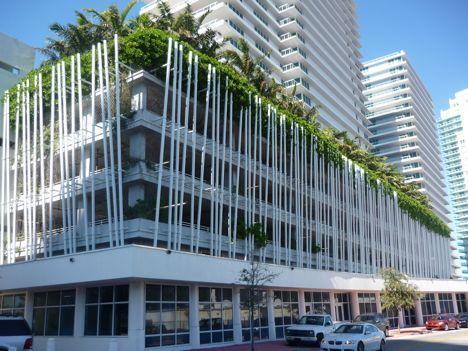 Bently Bay Condo Parking Garage   Green Wrap   Arquitectonica   Miami, Florida   Photograph TreeHugger