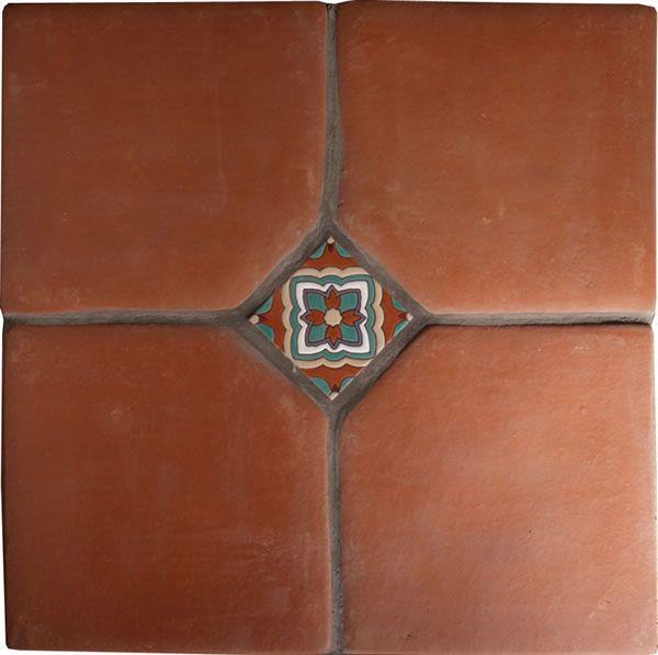 terracotta tiles | Mexican Tile - Spanish Mission Red Terracotta Floor Tile