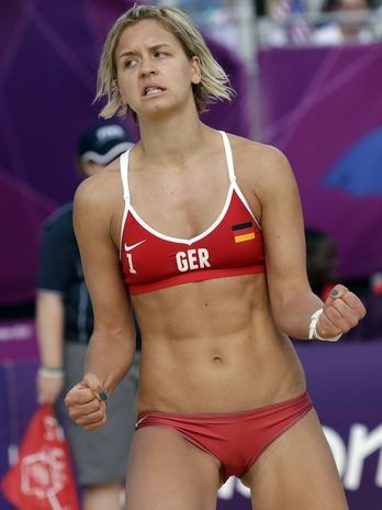 Laura Ludwig (GER) - I want these girls' bodies.