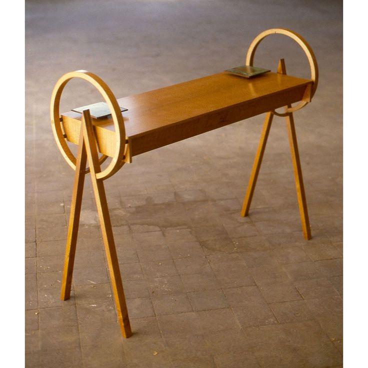 Circle, Square & Triangle Console Table by Anton Gerner - bespoke contemporary furniture melbourne
