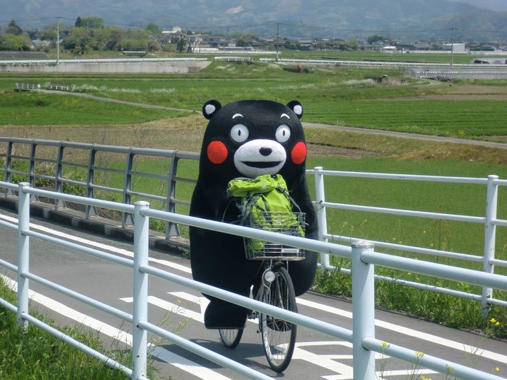 Picture from KUMAMON's Kumamoto Diary