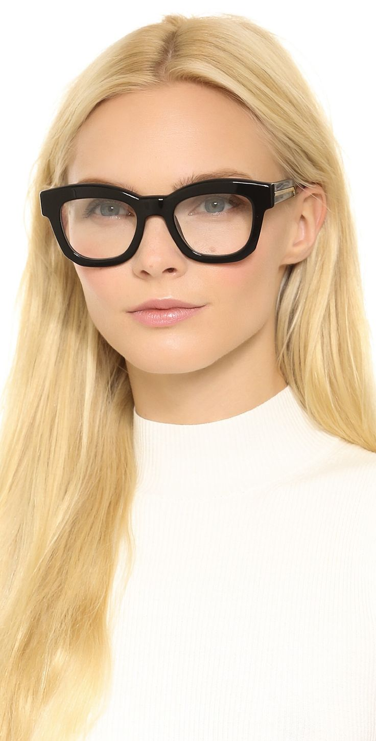 Stella McCartney Thick Frame Glasses | SHOPBOP