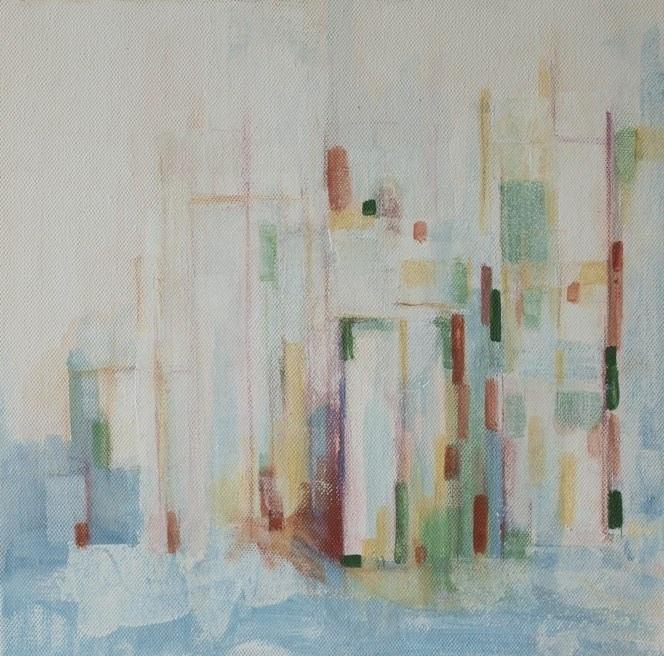 acryl/oil on canvas 40x40cm