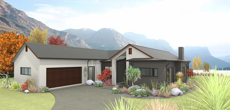 A more compact version of the Wakatipu design, the Lakeside features high sloped ceilings in the kitchen, dining and family areas and 2.7 high ceilings throughout. A separate lounge is accessed through double cavity sliders from the casual living and living spaces open to outdoor living. The master suite is positioned for morning sun separately from guest or family bedrooms.