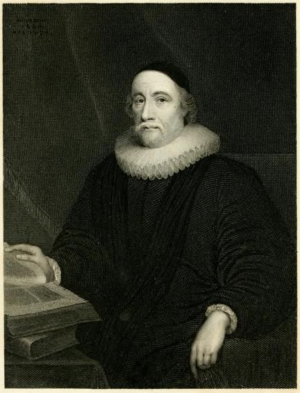 James Ussher, Archbishop of Armagh, illustration from 'The Whole Works of the Most Rev. James Ussher, D.D.' (Elrington, 1847).