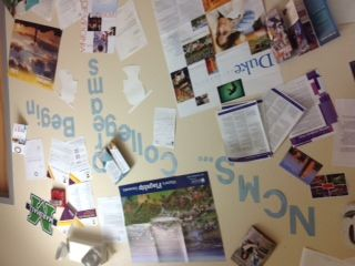 by Narcoossee Middle School, Osceola County, Florida   Narcoossee MS College Wall You better watch...