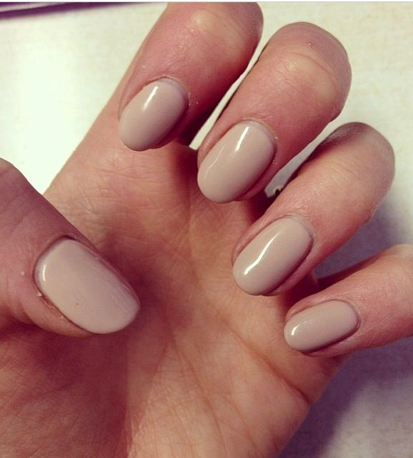 Just love nude nails #BioSculpture