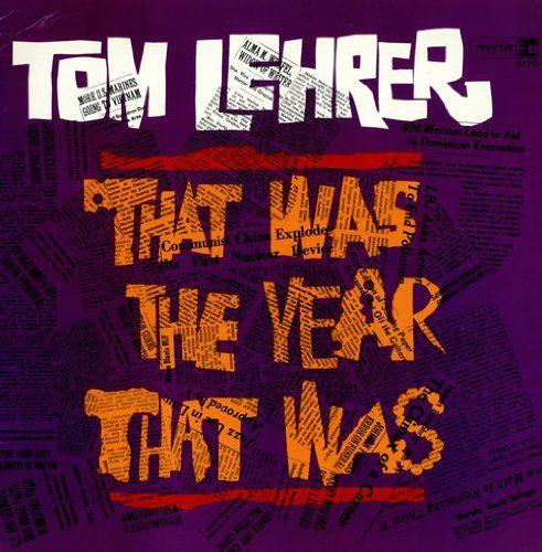 Tom Lehrer: That Was The Year That Was [VINYL LP] [MONO] ...