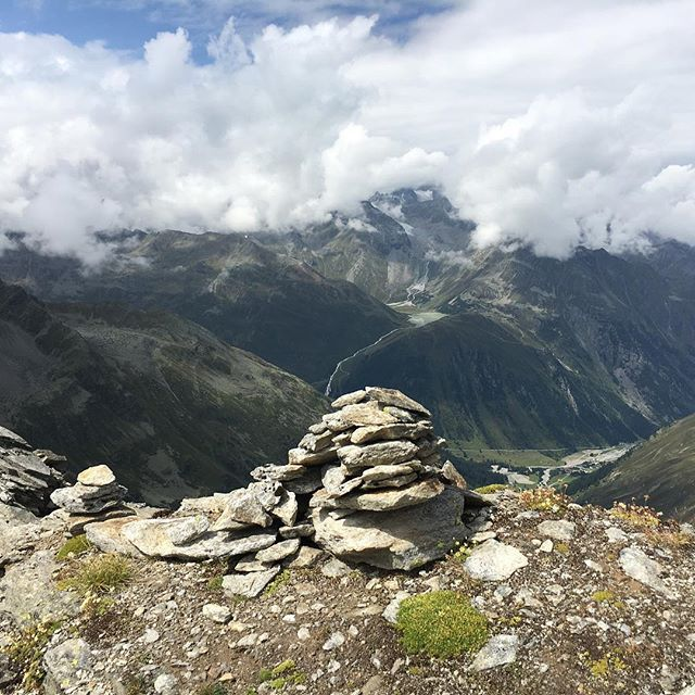 """Alpencross 2017 Hiking through 3 countries ( E5 ) 135km in 6 days 🏔🏔🏔🏔🏔🏔 #ambient#hikingtheglobe #heimwehnachoberstdorf #wanderweg_e5 #hiking #hikingram #hikers #hiker_official #hiker_mentality #greens #alpenüberquerung #alps #hikerslife#friends#instabackpacker#travelgram#oberstdorfmeran#alpencross#instatravel#hiking_lifestyle #whyihike #germany#lechtal #idhikethat #transalp#meran#oberstdorf#tirol #südtirol #fog"" by @hiking.anes. #fslc #followshoutoutlikecomment #TagsForLikesFSLC…"