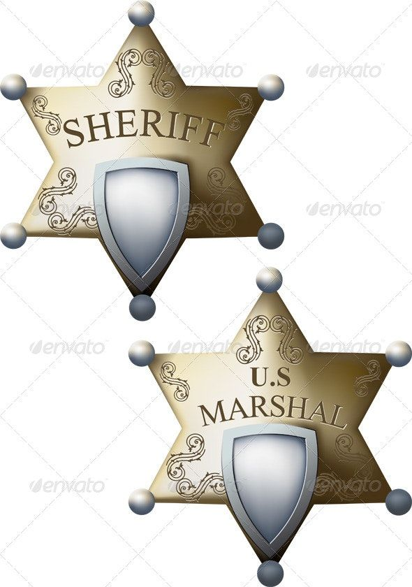 Printable Sheriff Star Badge Templates Set Freepatternsarea Star Badge Badge Template Sheriff