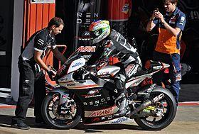 Johann Zarco au Grand Prix moto de Catalogne 2015