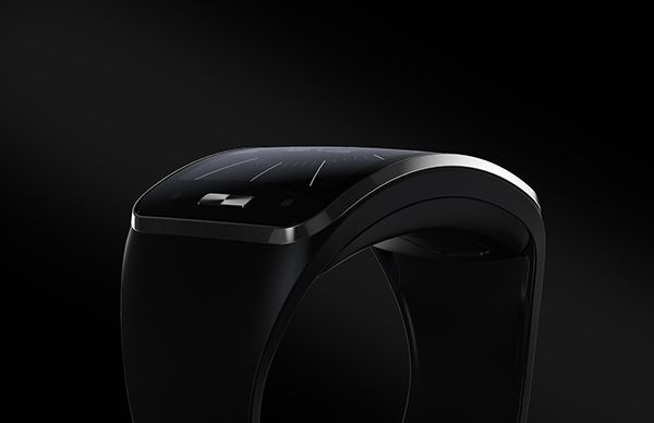 Samsung Gear S on Behance