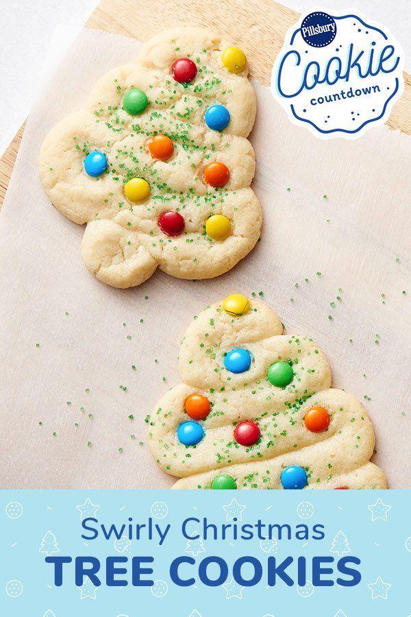 Pillsbury Cookie Dough Recipes Christmas : pillsbury, cookie, dough, recipes, christmas, Swirly, Christmas, Cookies, Recipe, Recipes, Christmas,, Snacks,