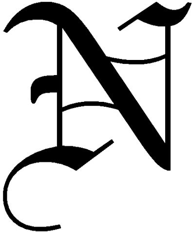 Death Note font | Near - Death Note Wiki