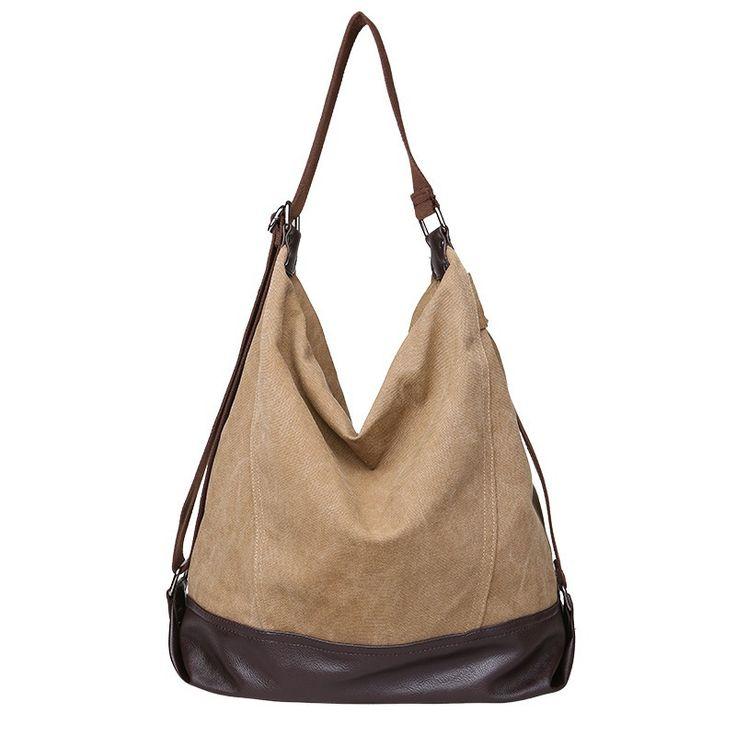 Women Lady's Retro Classic Canvas Handbag Shoulder Bag Fashion Large Beach Bags Women Messenger Crossbody Bag Bolsos