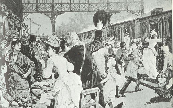 El polisón se desplaza a la velocidad de inventos como la locomotora, convirtiéndose en la silueta de la Revolución industrial. Los cambios tecnológicos y mecánicos influyeron en la moda de manera …