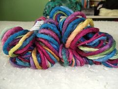 Creative Fibres Hand Dyed Thick and Thin Yarn