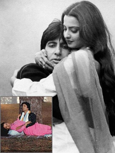Truth Behind the 8 Unfortunate Love Stories of Bollywood - Amitabh and Rekha