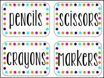 25 Best Ideas About Classroom Labels On Pinterest