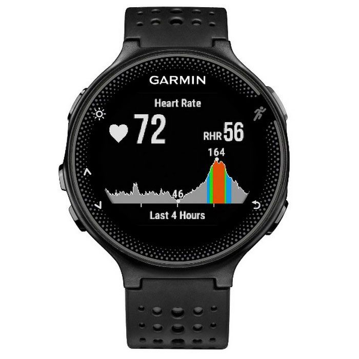 GARMIN Forerunner 235 - Black and Gray Silicone Watch English version - Free Shipping - DealExtreme