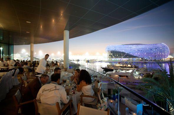 Dining on Yas Island  #F1AbuDhabihospitality