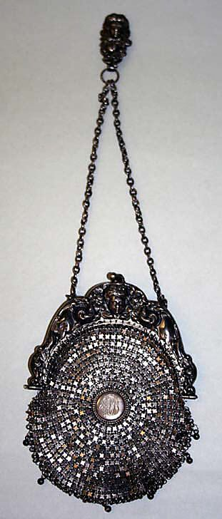 Minaudière - 1900-10 - Made in Europe - Silver - The Metropolitan Museum of Art - @~ Mlle
