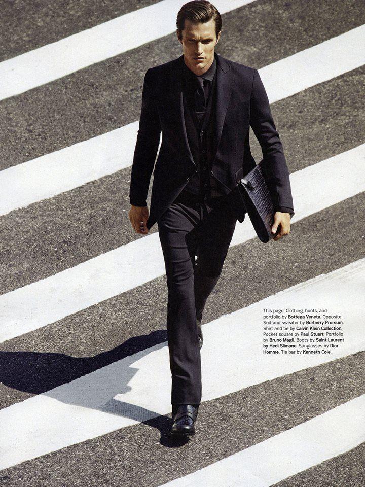 Shaun De Wet in Details Magazine