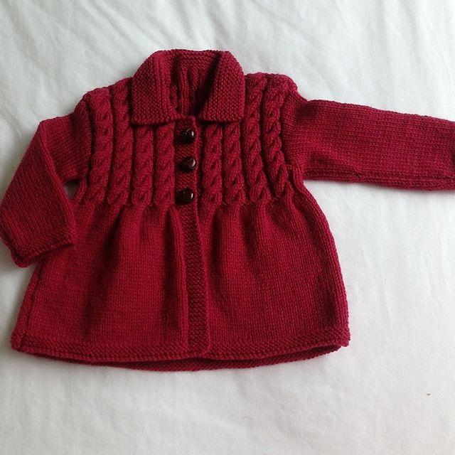 Ravelry: Little Smock Coat pattern by Sue Batley-Kyle - pattern in book