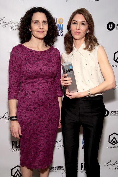 Sofia Coppola Photos - Screenwriter Tamara Jenkins and Director Sofia Coppola pose with film tribute award backstage during IFP's 27th Annual Gotham Independent Film Awards on November 27, 2017 in New York City. - IFP's 27th Annual Gotham Independent Film Awards - Backstage