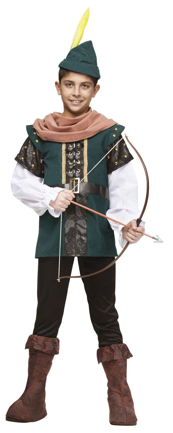 Boys Archer Robin Hood Kids Costume Robin Hood Costumes - Mr. Costumes