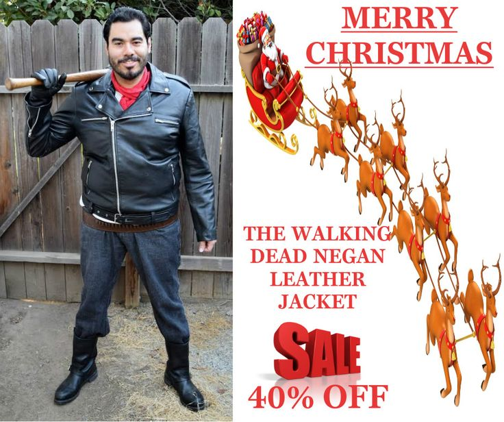 Get a Stylish new The Walking Dead Negan Leather Jacket for sale. This Dead Negan Leather Jacket for sale at discounted price at our online store fit jackets!!!  #TheWalkingDead #TVseries #jeffreydean #Christmas #Merrychristmas #christmasDeal #christmasSale #Costume #cheezburger #geektyrant #geek #Sexy #Hot #geekcheezburger #Celebrities #Cosplay #Fashion #sale #Shopping #MensFashion #MensOutfit #StyleMens