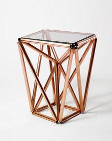Initiales GG ... : {DIY} une table d'appoint en cuivre !