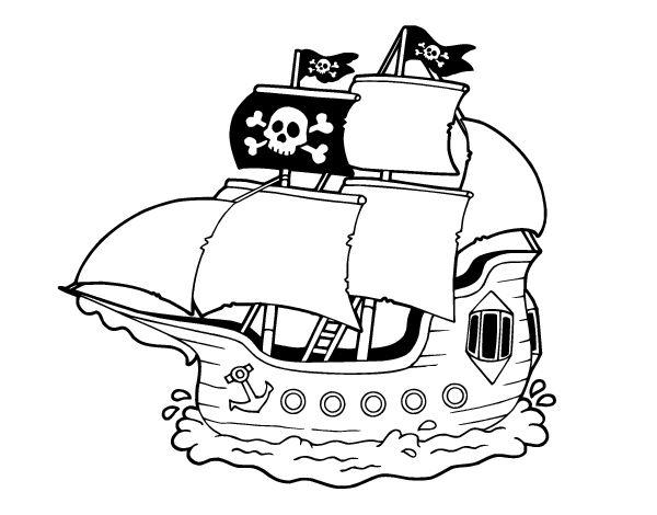 imagenes de piratas para colorear e imprimir - Buscar con Google