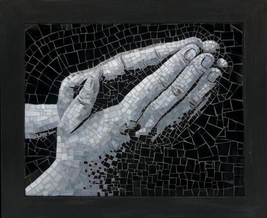 """2009 Mosaics 2nd. Place """"Trust"""" by Paula"""