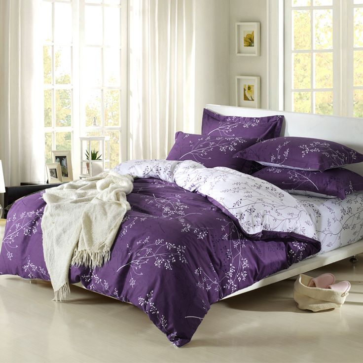 Best 25 Purple Duvet Covers Ideas On Pinterest