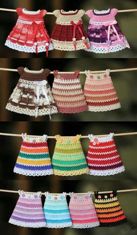 Vestido em miniatura