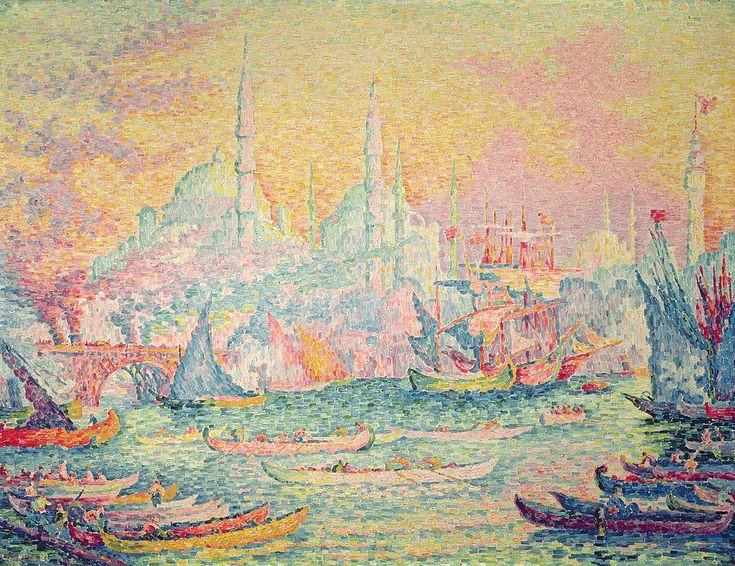 Paul Signac —Istanbul (1907)